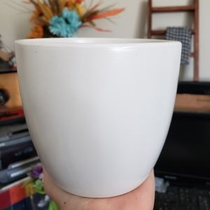 Modern Matte White Planter/Pot